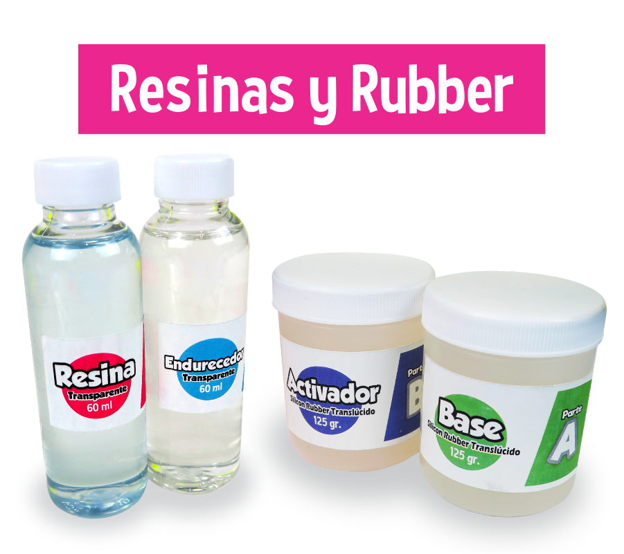 Resina y Rubber